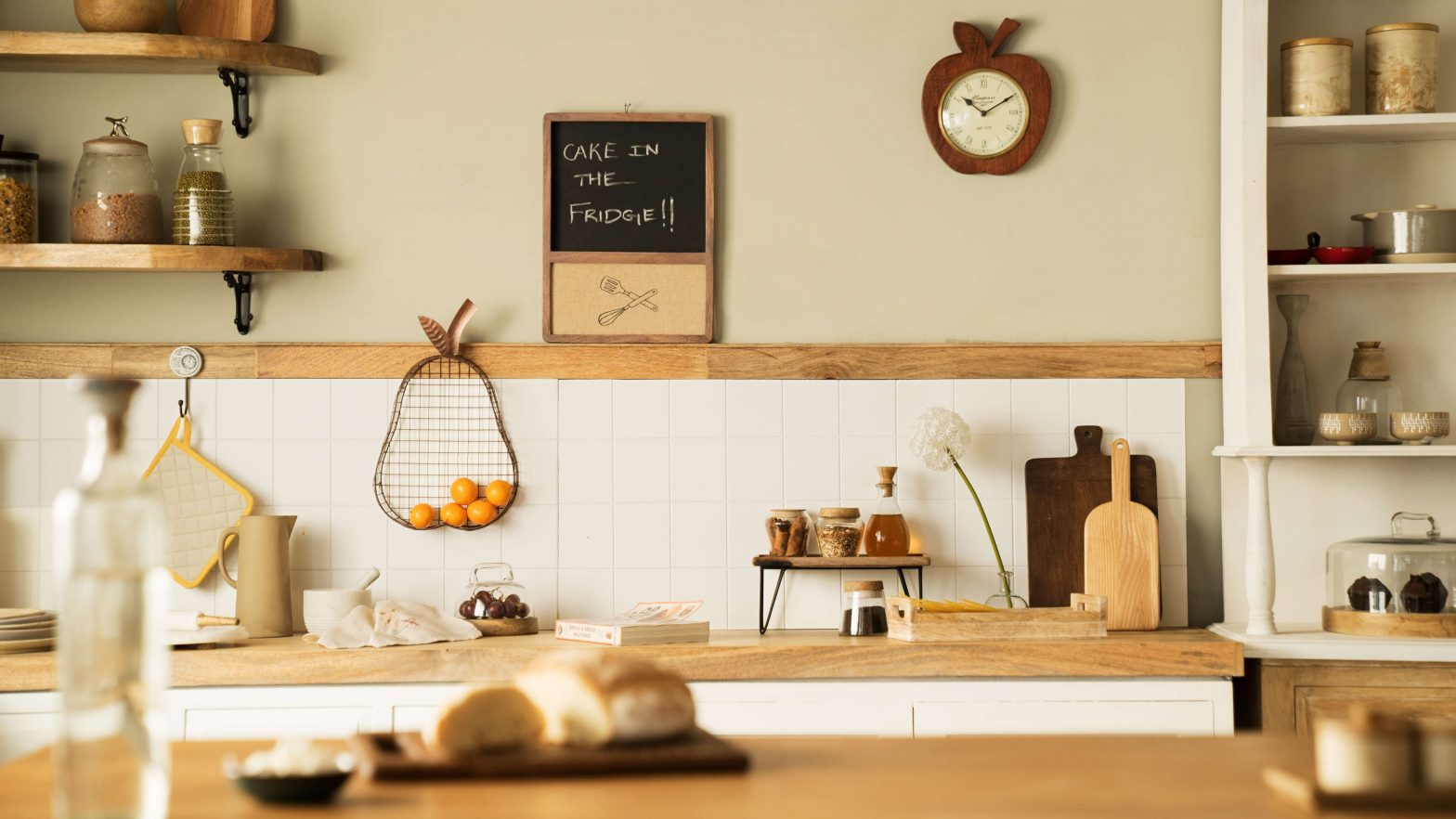 Image of: Kitchen Wall Decor Ideas Ellementry