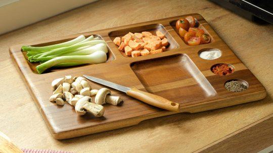 multi utility kitchen platter